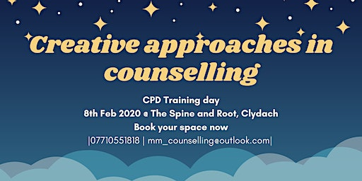Creative approaches in Counselling (CPD)