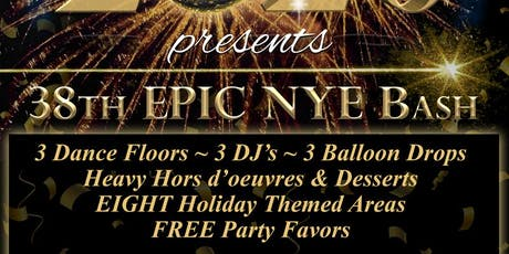 GROVE HOUSE 38th EPIC NYE BASH tickets