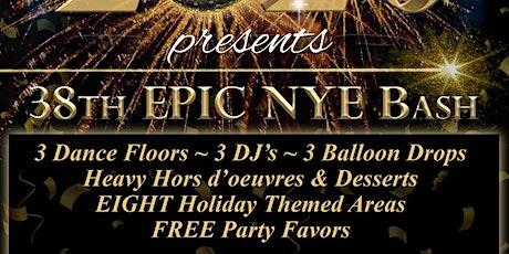 GROVE HOUSE 38th EPIC NYE BASH tickets