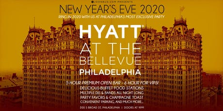 Glitter City's New Years Eve Celebration at the Hyatt Bellevue Party 2020 tickets