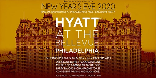 Glitter City's New Years Eve Celebration at the Hyatt Bellevue Party 2020