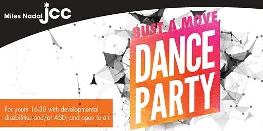 Bust a Move Dance Party @ the J - Apr 25