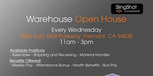 Warehouse Open House