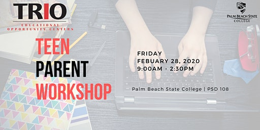 Teen Parent College Info Workshop