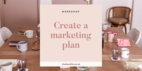Create a Marketing Plan for Small Creative Businesses  tickets