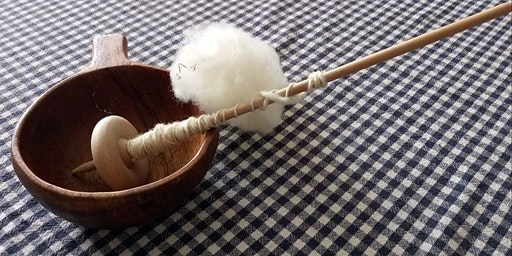 Old World Inspirations- Supported Spindle Spinning
