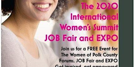 2020 International Women's Summit & JOB Fair