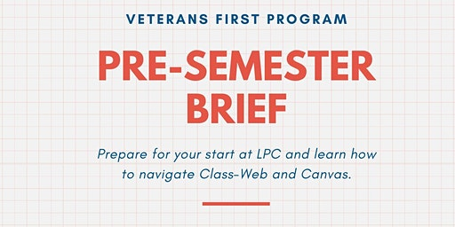 Pre-Semester Brief (Afternoon Session)
