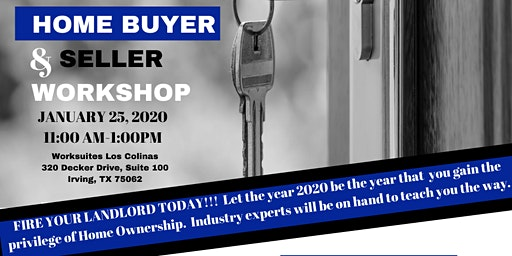 2020 Home Buyer/ Sellers Workshop Event