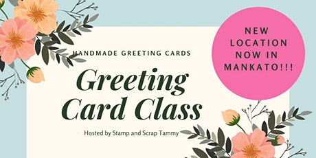 Handmade Greeting Cards Class tickets