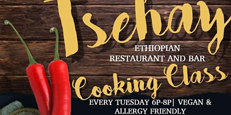 Ethiopian Cooking Experience tickets