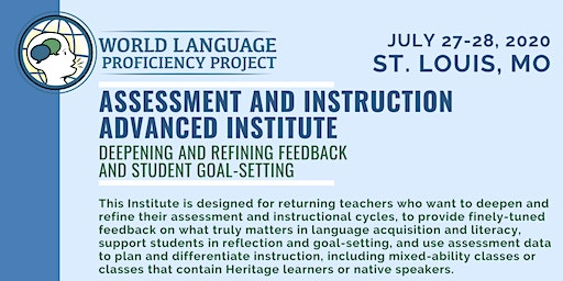 St. Louis Advanced Summer Institute on Assessment