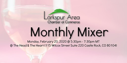 Larkspur Area Chamber Monthly Mixer -February 2020