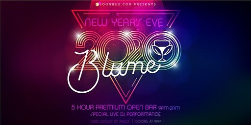 Blume New Years Eve Party 2020