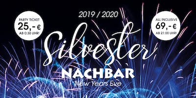 Welcome 2020! All Inclusive Silvester Party in der Nachbar  Berlin