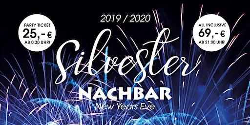 Welcome 2020! All Inclusive Silvester Party in der Nachbar  Berlin