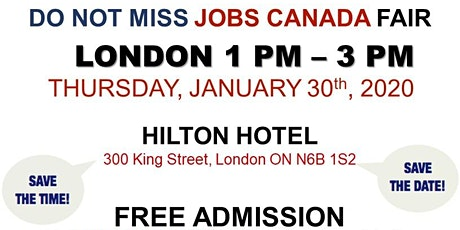 London Job Fair - January 30th, 2020 tickets