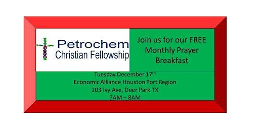 Petrochem Christian Fellowship Breakfast December 17th 2019