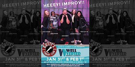 Gutty's Comedy Club: Well Versed Improv Comedy
