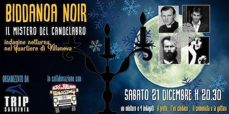 Biddanoa Noir, caccia al tesoro notturna a squadre a Villanova biglietti