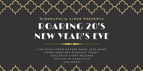 Roaring 20's New Years Eve tickets