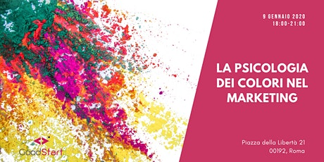 La Psicologia dei colori nel marketing tickets