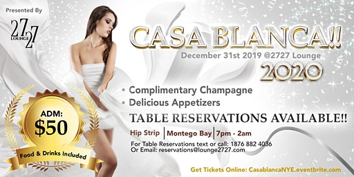 Casa Blanca! New Year's Eve Ball