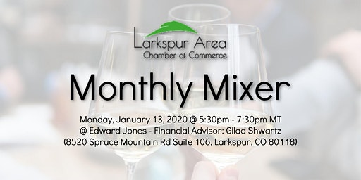 Larkspur Area Chamber Monthly Mixer - January 2020