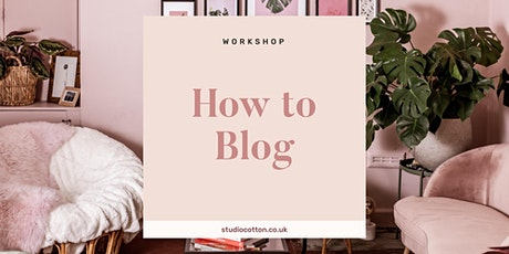 How to Blog for Small Creative Businesses tickets