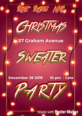 Christmas Sweater Party tickets