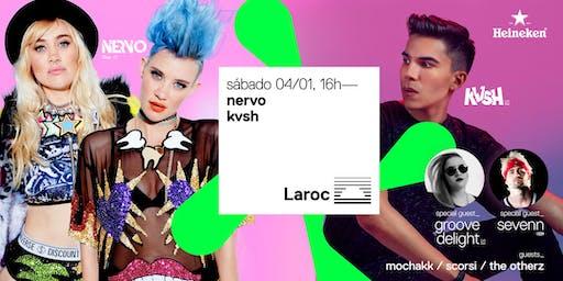 NERVO + KVSH no Laroc
