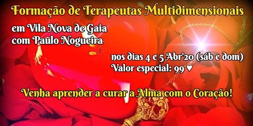 CURSO DE TERAPIA MULTIDIMENSIONAL em Vila Nova de Gaia por 99 eur em Abr'20