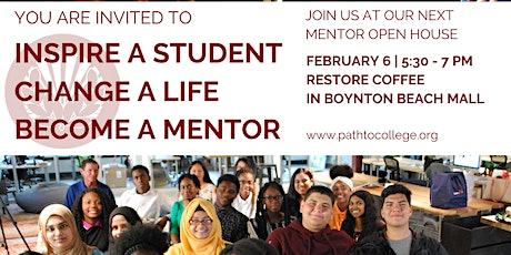 Become a Mentor! Path to College Open House tickets