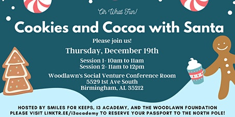 Cookies and Cocoa with Santa: Session I tickets