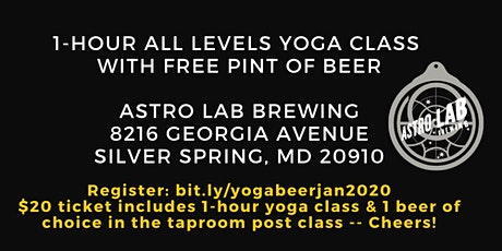 Yoga & Beer with Becca tickets