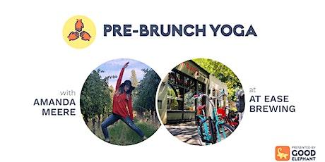 Pre-Brunch Yoga tickets