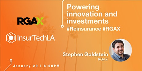 Powering innovation and investments - InsurTech  tickets
