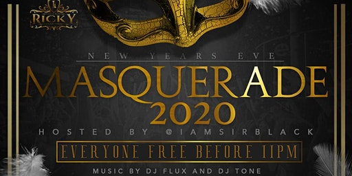 NEWYEARS PARTY!!! EVERYONE FREE BEFORE 11PM!