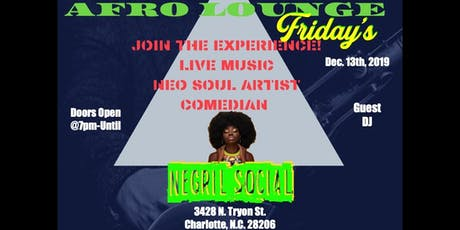 Afro Lounge Friday's tickets