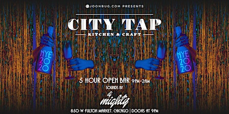 City Tap Fulton Market New Years Eve 2020 Party tickets
