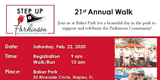 21st Annual Step Up for Parkinson Disease walk