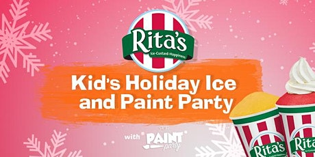 Rita's Kids Holiday Ice & Paint Party tickets