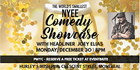 The World's Smallest NYEE Comedy Showcase! tickets