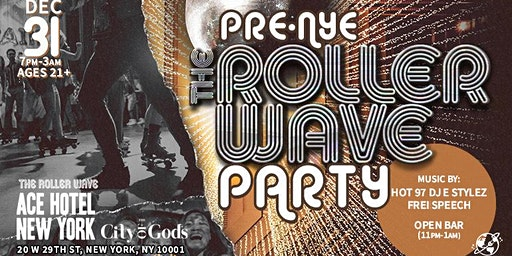 The Roller Wave x Ace Hotel: New Years Eve Roller Disco