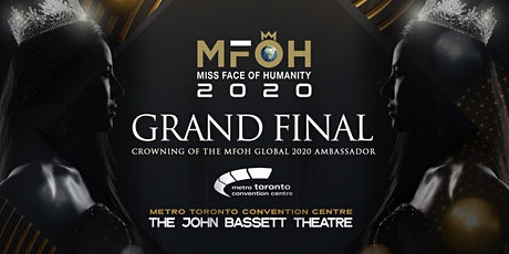 Miss Face of Humanity Grand Final - Crowning of The MFOH Global  Ambassador tickets
