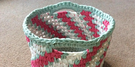 Crochet Candy-Striped Basket Workshop tickets