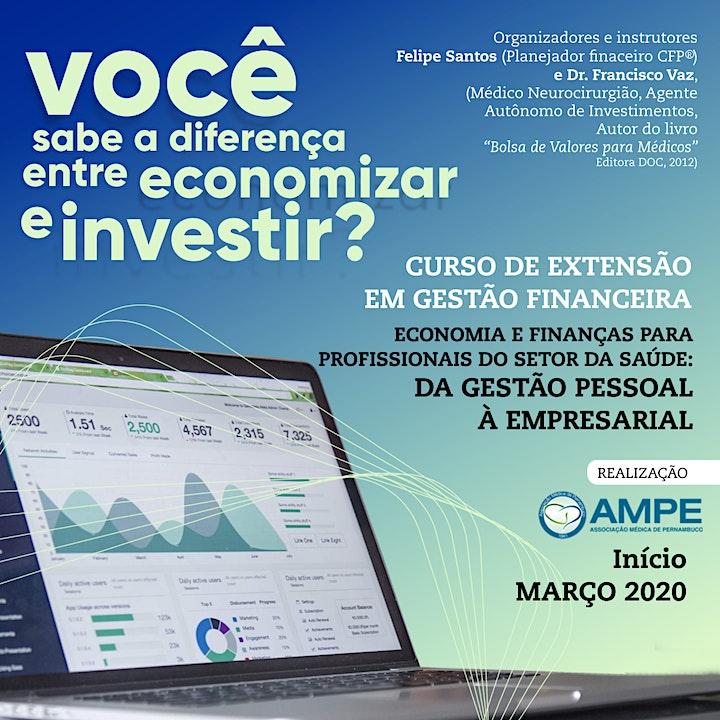Imagem do evento Curso de Extensão em Gestão Financeira