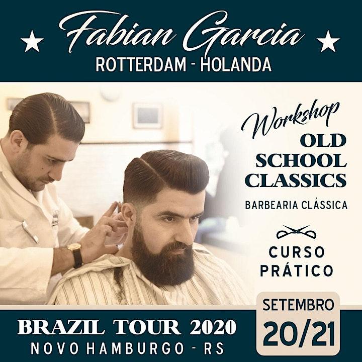 "Imagem do evento FABIAN GARCIA en ""OLD SCHOOL CLASSICS""- Barbería Clásica"