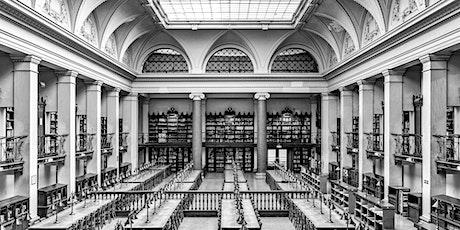"""Vernissage Fotoausstellung """"Bibliotheken"""" von Thomas Obermayer Tickets"""