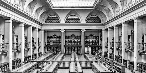 """Vernissage Fotoausstellung """"Bibliotheken"""" von Thomas Obermayer"""